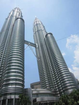 Petronas Twin Towers in Kuala Lumpur. (photo Nihal Sharaf)